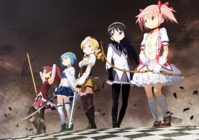 Puella-Magi-Madoka-Magica-group-anime-artwork-9